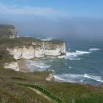 Flamborough: along the North Cliff