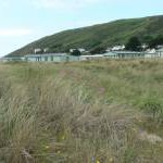 Caravan park at Aberdovey Beach