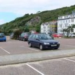 Car park on Aberdyfi seafront