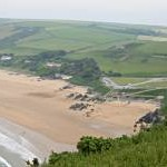 Putsborough from Napps Cliff