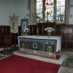 St Cuthbert's Church, Aldingham, Altar