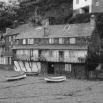 Cottages Clovelly Harbour 1963