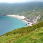 Keem beach on Achill Island off the west coast of County Mayo