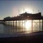 Paignton Pier at sunrise