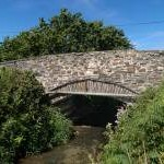 Lhen bridge Isle of Man.