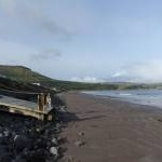 Waterfoot Beach towards Red Bay