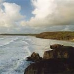 Coastline at Perranporth