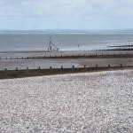Groynes and beach north of Silloth