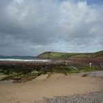 Across Manorbier Bay