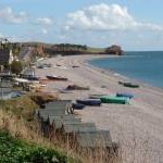Beach, Boats and Bathing Huts, Budleigh Salterton