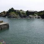Polperro Harbour entrance