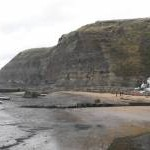 Cliffs behind Staithes Harbour