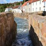 The tide's in, Pittenweem