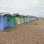 Beach huts at Littlehampton