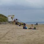 Fun and games on Formby beach
