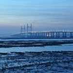 Severn Beach : Estuary & Second Severn Crossing