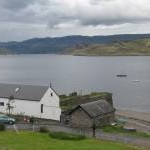 Pier and cottage to let at Kames