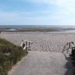 Beach access at Traeth Lligwy