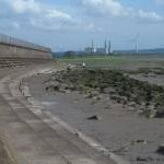 Stepped revetment at Severn Beach
