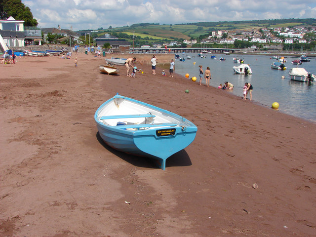Shaldon Beach - Devon