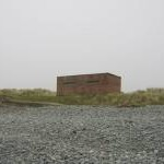 Pill Box On Borth Beach