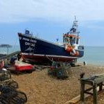 A fishing boat at Deal