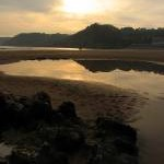 On the Rocks at Sundown: Caswell