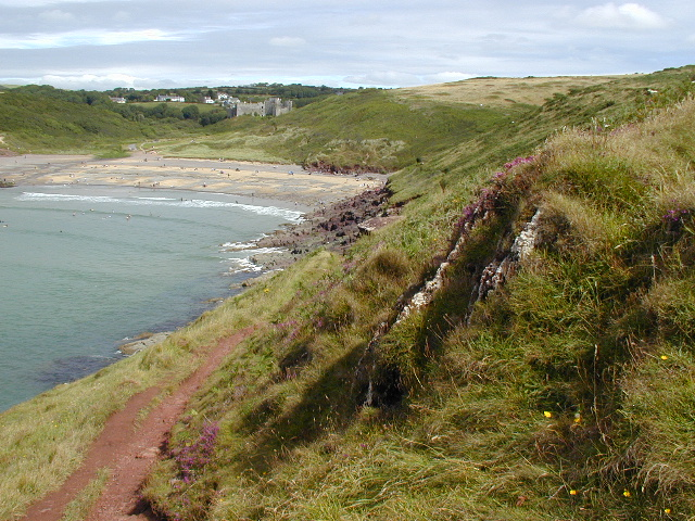 Manorbier Bay - Dyfed