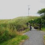 Footbridge on Public Footpath, Dunnet Bay