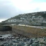 Harbour wall - Mousehole