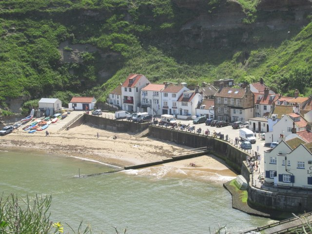 Image result for Staithes Beach, Yorkshire