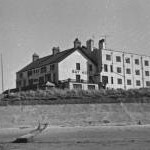 Bay Hotel, Rhosneigr, from the shore