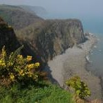Cliffs below Galantry Gower