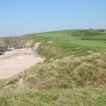 Thurlestone: beach, coast path and golf course