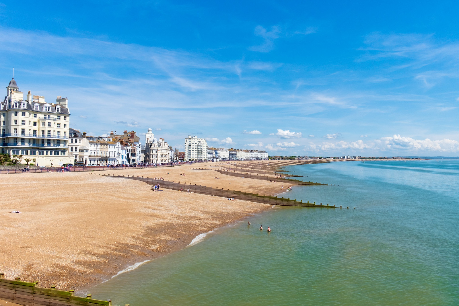 Eastbourne Beach - East Sussex