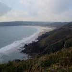 Looking towards Freshwater East