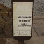 Rescue Torpedo Buoy and sign