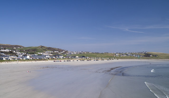 Downings Beach - County Donegal