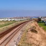 North Wales Main Line at Towyn