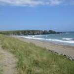 The beach at Bunmahon