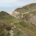 Coastal path at Shepherd's Chine