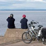 Admiring the view - Silloth