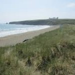 The west side of the beach at Bunmahon