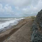 Storm protection works at Seascale