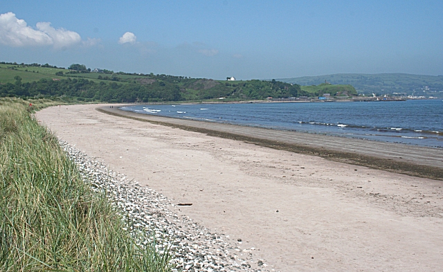 Waterfoot Beach - County Antrim