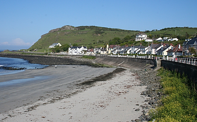 Ballygally Beach County Antrim Uk Amp Ireland Beaches