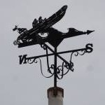 Windvane on Minehead seafront