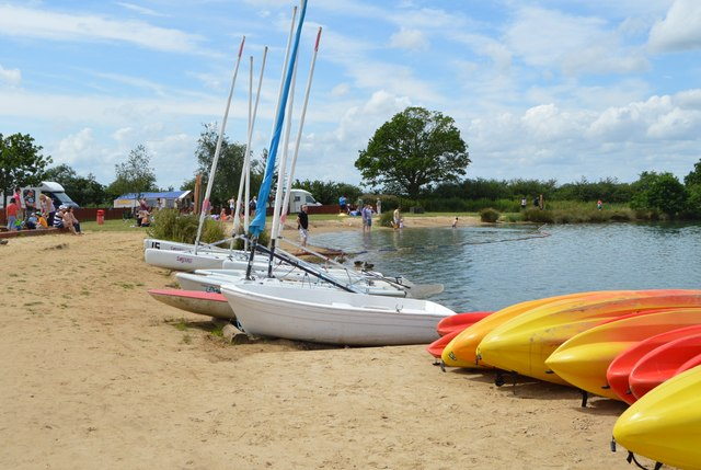 Bosworth Water Park Beach - Warwickshire