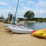 Bosworth Water Park Beach Warwickshire