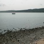 Looking across Red Wharf Bay